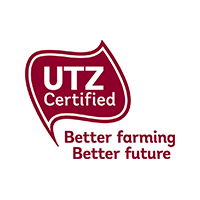 UTZ Certified Coffee, Tea, Cocoa, Hazelnuts